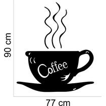 Adesivo Decorativo Parede Cozinha Pia Café Coffee Xícara