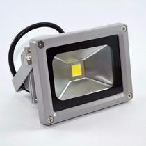 Luminária Estilo Refletor Para Áreas Externas Luz Branca Led