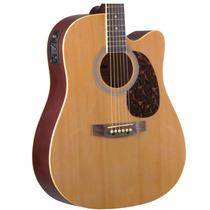Violão Folk Memphis Cutaway Cordas Em Aço Md-18 Cor Natural