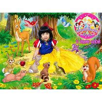 Fantasia Branca De Neve Disney