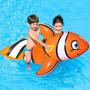 Boia Inflável Infantil Peixe Palhaço Flutuador Piscina Praia