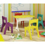 Conjunto Mesa Cadeira Infantil Colorida