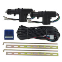Kit Trava Elétrica Universal Carro 2 Portas Dupla Serventia