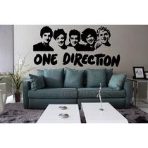 Adesivo Decorativo Parede Música Banda One Direction