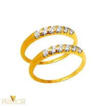 Aparador Em Ouro 24 Diamantes Acabamento Banho Ródio Ap011