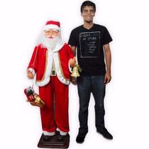 Boneco Natal Papai Noel Dancante Musica Decoracao Enfeite