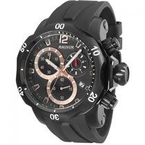 Relógio Magnum Ma33755p Chronograph Preto De Luxo Unissex