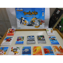 Desafio Ninja Club Penguim Album C/ 125 Figurinhas Cards