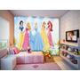 Papel De Parede Infantil Feminino Princesas Barbie 4,5m²