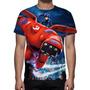Camisa, Camiseta Filme Operação Big Hero 6 - Estampa Total