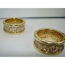 Par Alianças Anel Bvlgari Em Ouro 18k 750 Com Diamantes