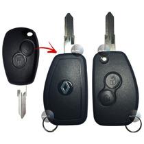 Chave Canivete Para Alarme Renault Logan Sandero Duster