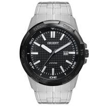 Relógio Orient Analógico, Pulseira De Aço - Mbss1236 P1sx