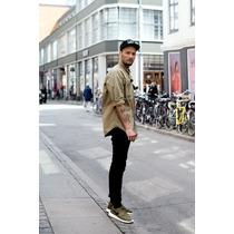 Calça Sarja Premium Jeans Skinny Com Lycra Maculina Offert