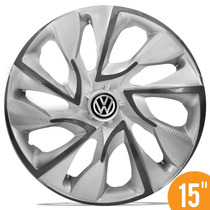 Carlota Esportiva 15 Ds4 Silver Cup Vw Fox Polo Golf 5 Furos