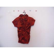 Camisa Feminina Bordot Tafetá Babadinhos Cód. 472