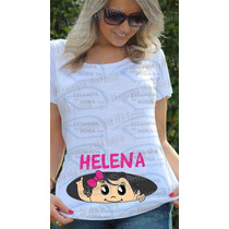 Blusa Camiseta Gestante Gravida Bebê Espiando Na Barriga