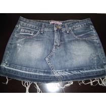 Mine Saia Jeans Sawary Tamanho 40