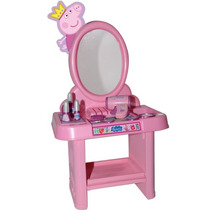 Penteadeira Peppa Pig Brinquedo Infantil Menina Rosita