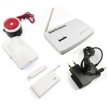 Kit De Alarme Residencial Gsm Com Sistema Wireless Sms/gprs