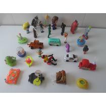 Lote De 50 Brinquedos Variados Em Otimo Estado