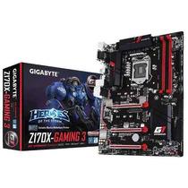 Placa Mae Lga 1151 Intel Gigabyte Ga-z170x-gaming 3 Atx Ddr4