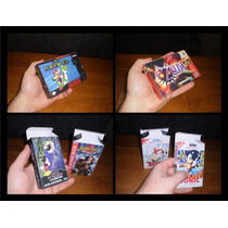 Mini Caixas Para Jogos Snes N64 Nes Gb Gbc Gba Atary Master
