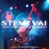 Cd Steve Vai Where The Other Wild Things Are Live In Minneap