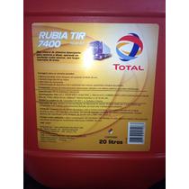 Óleo 15w-40 Total Rubia Tir 7400 Motor Diesel 20l