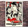 Poster Filme Curtindo Vida Adoidado Ferris Retro - 30x42cm