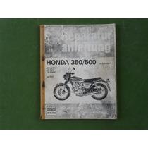 Manual De Serviço Para 350 E 500 Four, Idioma Alemão, 118 Pg