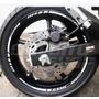 Friso Adesivo Roda M02 Refletivo Moto Yamaha Xj6 Tuning 600