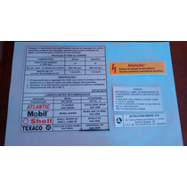 Adesivo Etiquetas Cofre Motor Capo Gol Gts 91-94