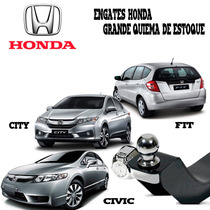 Engate De Reboque Honda City / Civic / E New Fit