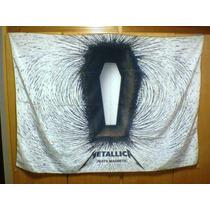 Bandeira Metallica Death Magnetic 100% Polyester