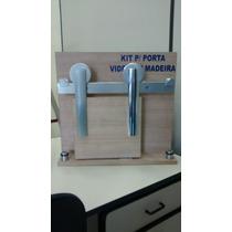 Kit Ferragens Para Porta De Correr 2mt Polido Fácil Instalaç