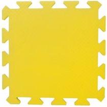 Tapete Eva Amarelo 50x50x1cm 10mm