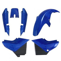 Carenagem Kit Completo Ybr 125 Azul 2004/2005