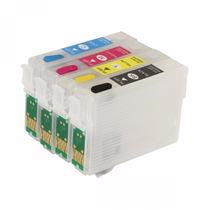 Cartucho Recarregavel Impressoras Tx560 Tx620w T42wd + Tinta