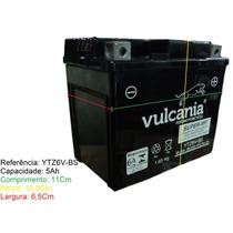 Bateria Vulcania Ytz6v-bs Titan 150 Mix 09 E/d/ Bros