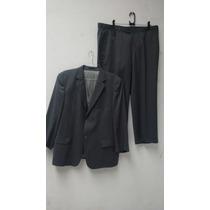 Terno Suit Makers Lã Fria Risca De Giz Super 120