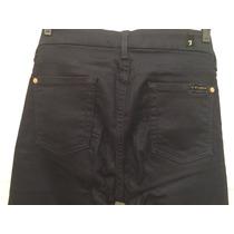 Calça Fem Jeans Flare C Lycra Pouco Usada 7 For All Mankind