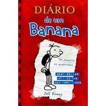Diário De Um Banana- Um Romance Em Quadrinhos- Capa Brochura