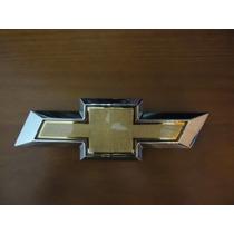 Emblema Gm Dourado C/ Borda Cromada Original