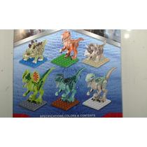 Coleção Completa Com 6 Dinossauros Lego Jurassic World