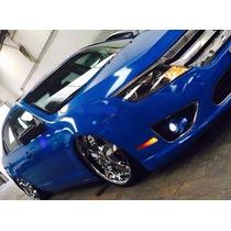 Envelopamento Azul Marinho Brilhante Automotivo