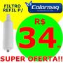 Refil Filtro Purificador Colormaq + Barato Do Mercado Livre