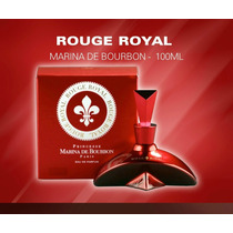 Perfume Rouge Royal Marina De Bourbon 100ml + Amostra Gratis