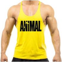 Camiseta Regata Cavada Animal Universal P/ Musculação