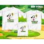 Kit Camisetas Personalizadas Aniversário Doki Discovery Kids